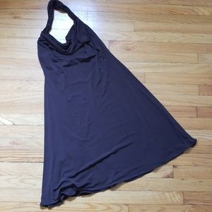 5/$25 Calvin Klein Halter Dress Brown 8